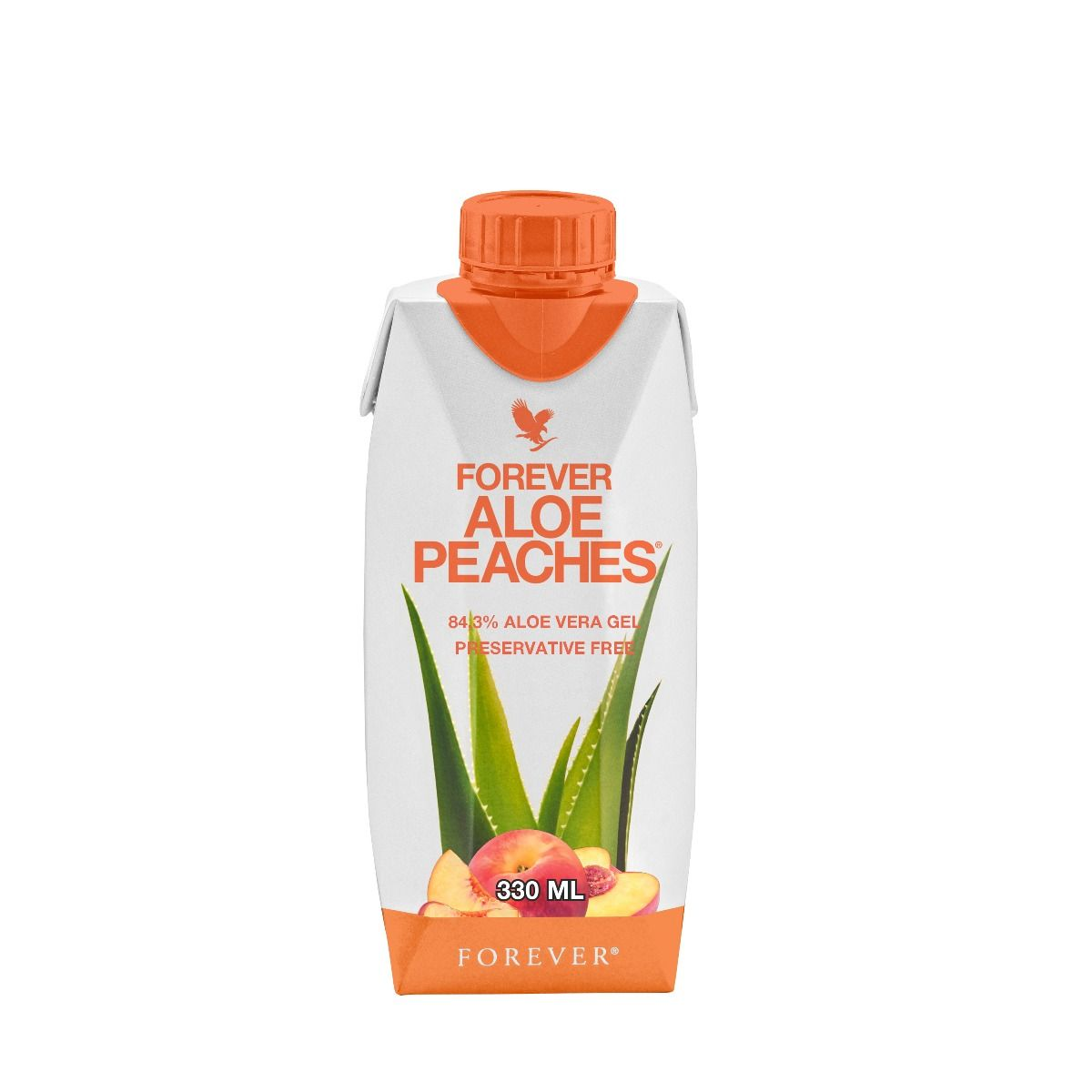 Forever Aloe Peaches 330 Ml – Pack x 12 Buc