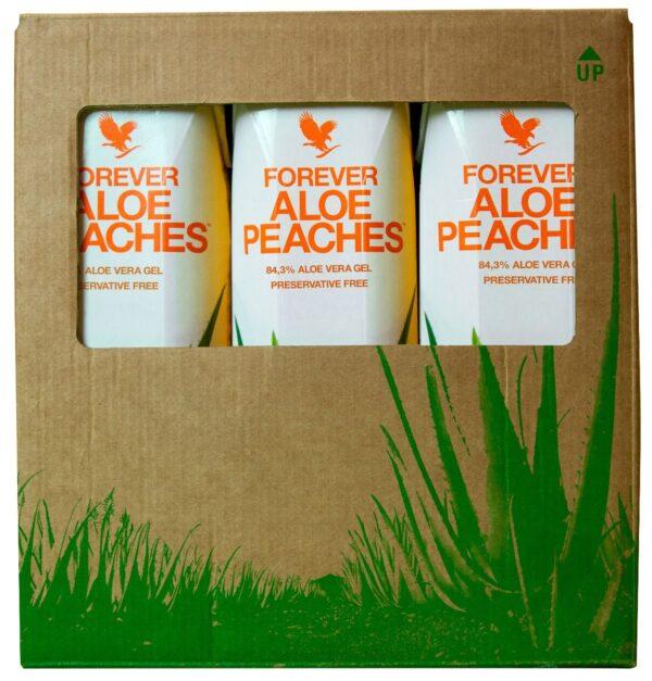Forever Aloe Peaches TriPack