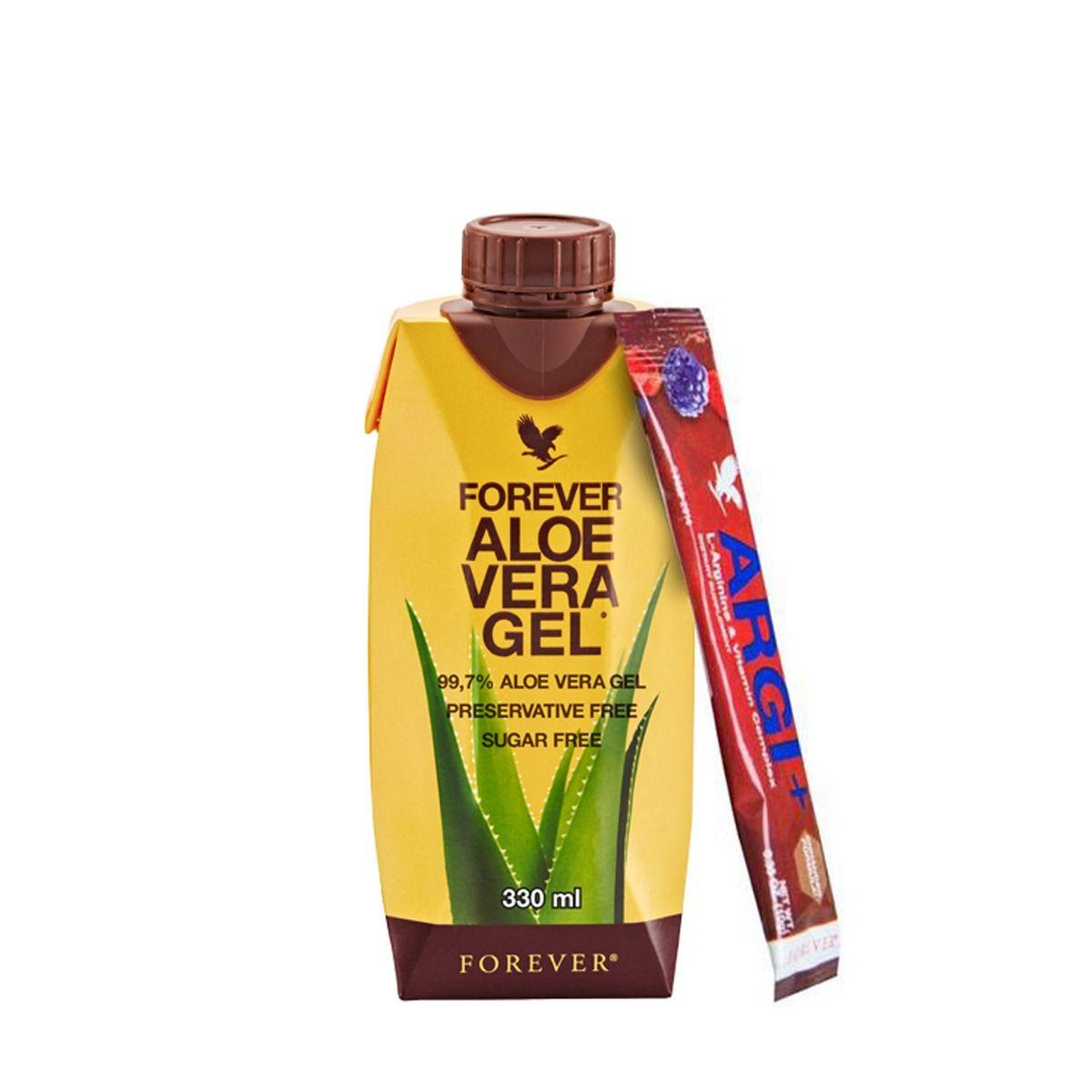 Forever Aloe Mini Tripack AVG 330 & Argi+